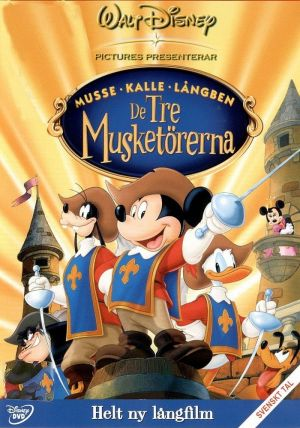 Mickey, Donald, Goofy: The Three Musketeers 700x998