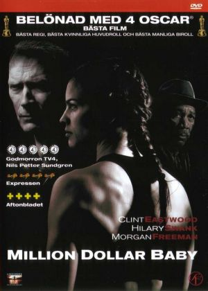 Million Dollar Baby Dvd cover