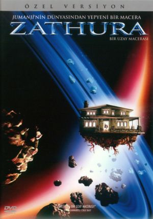 Zathura: A Space Adventure Dvd cover