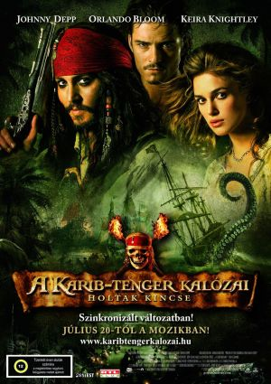 Pirates of the Caribbean: Dead Man's Chest 1224x1733