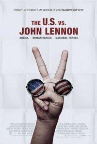 The U.S. vs. John Lennon poster