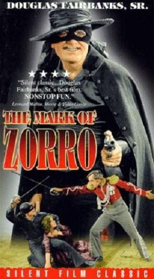 The Mark of Zorro Vhs cover