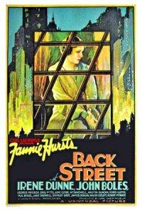 Back Street poster
