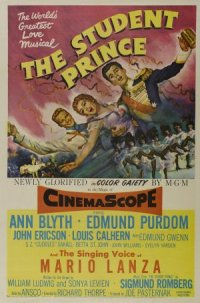 The Student Prince poster