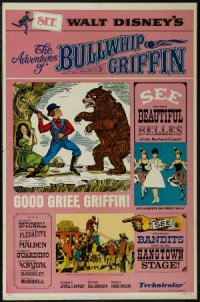 The Adventures of Bullwhip Griffin poster