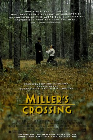 Miller's Crossing Advance poster