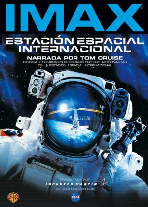 Space Station 3D Dvd cover