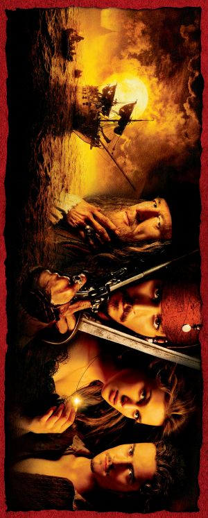 Pirates of the Caribbean: The Curse of the Black Pearl Key art