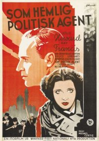 British Agent poster