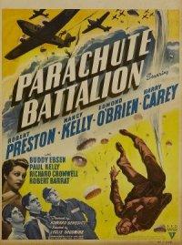 Parachute Battalion poster