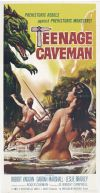 Teenage Cave Man Poster