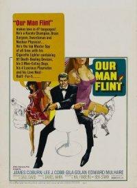 Notre homme Flint poster