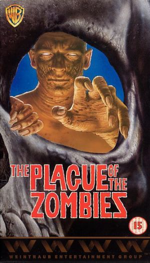 The Plague of the Zombies Dvd cover