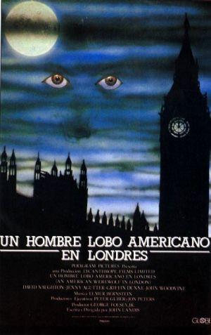 Un hombre lobo americano en Londres 409x650