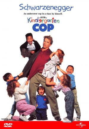 Kindergarten Cop Dvd cover
