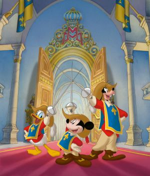 Mickey, Donald, Goofy: The Three Musketeers 1800x2110