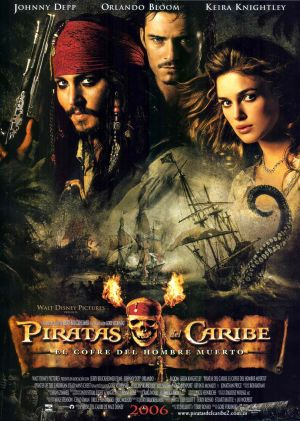 Pirates of the Caribbean: Dead Man's Chest 1783x2500
