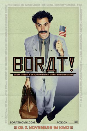 Borat: Cultural Learnings of America for Make Benefit Glorious Nation of Kazakhstan 957x1435