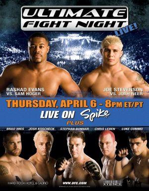 UFC: Ultimate Fight Night 4 600x771