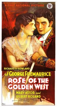Rose of the Golden West poster