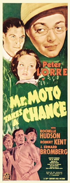 Mr. Moto Takes a Chance Poster