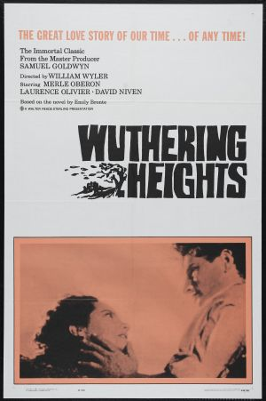 Wuthering Heights Re-release poster