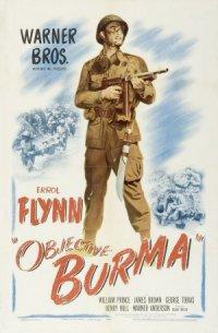 Objective, Burma! poster