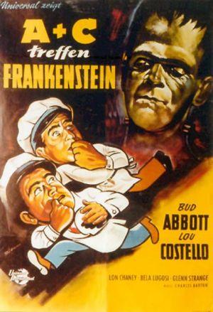 Bud Abbott Lou Costello Meet Frankenstein 478x700