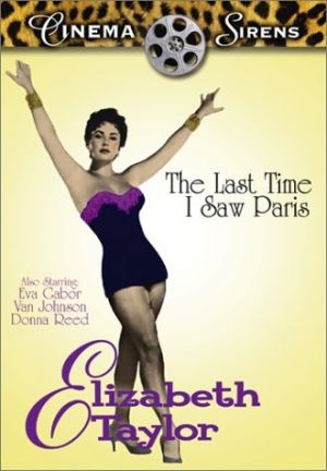 The Last Time I Saw Paris Dvd cover