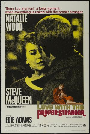 Love with the Proper Stranger Poster