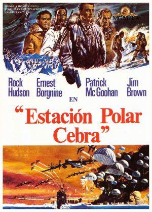 Ice Station Zebra 600x840