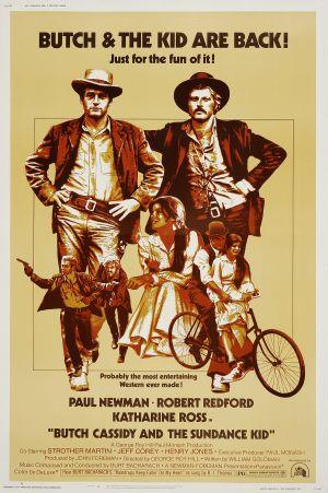 Butch Cassidy and the Sundance Kid 2100x3156