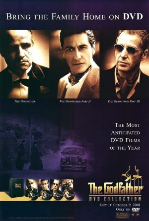 The Godfather Video release poster