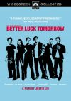 Better Luck Tomorrow Cover