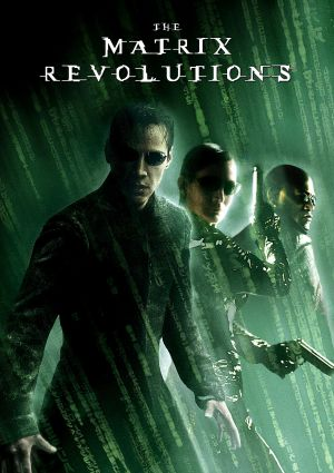The Matrix Revolutions Dvd cover