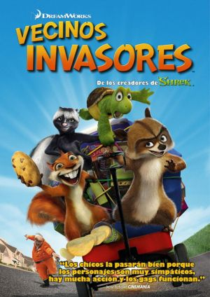 Over the Hedge 509x720