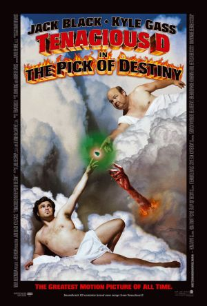 Tenacious D in 'The Pick of Destiny' Poster