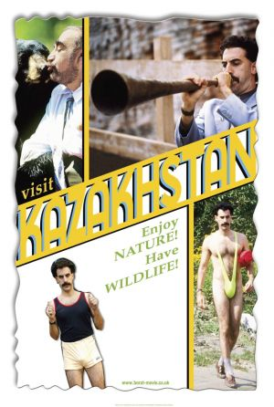 Borat: Cultural Learnings of America for Make Benefit Glorious Nation of Kazakhstan 941x1400