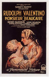 Monsieur Beaucaire poster