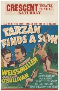 Tarzan znajduje syna poster