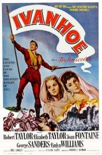 Sir Walter Scott's Ivanhoe poster