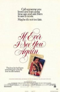 If Ever I See You Again poster