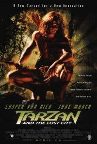 Tarzan und die verlorene Stadt poster