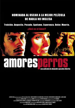 amores perros movie poster. Amores Perros poster