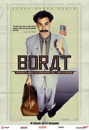 Borat: Cultural Learnings of America for Make Benefit Glorious Nation of Kazakhstan 500x727