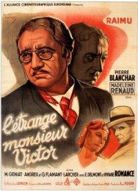 L'étrange Monsieur Victor poster