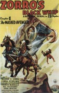 Zorro's Black Whip poster