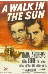 A Walk in the Sun poster