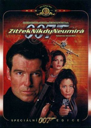 Tomorrow Never Dies Dvd cover