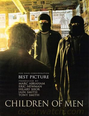 Children of Men For your consideration poster